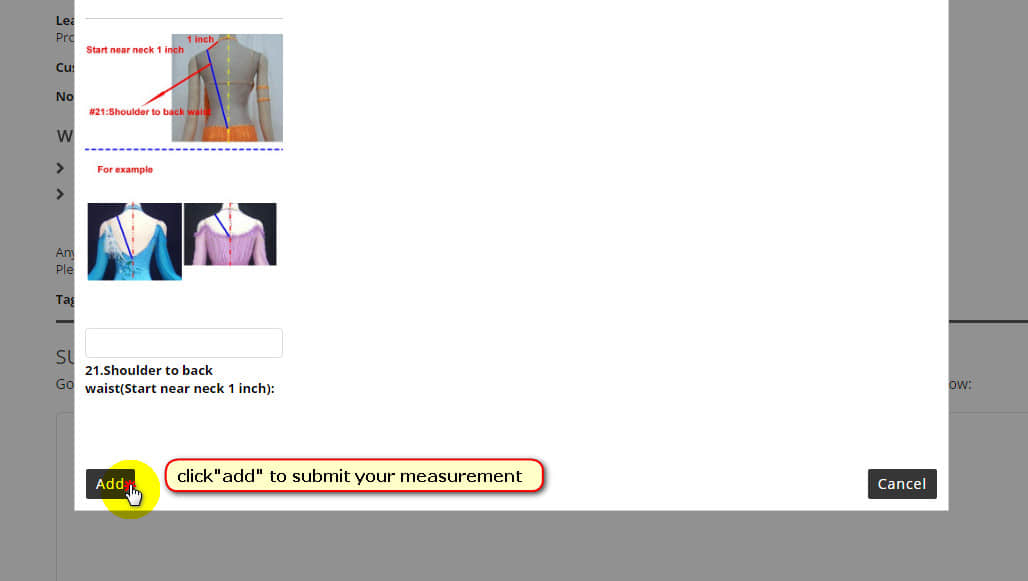 How To Submit Measurement